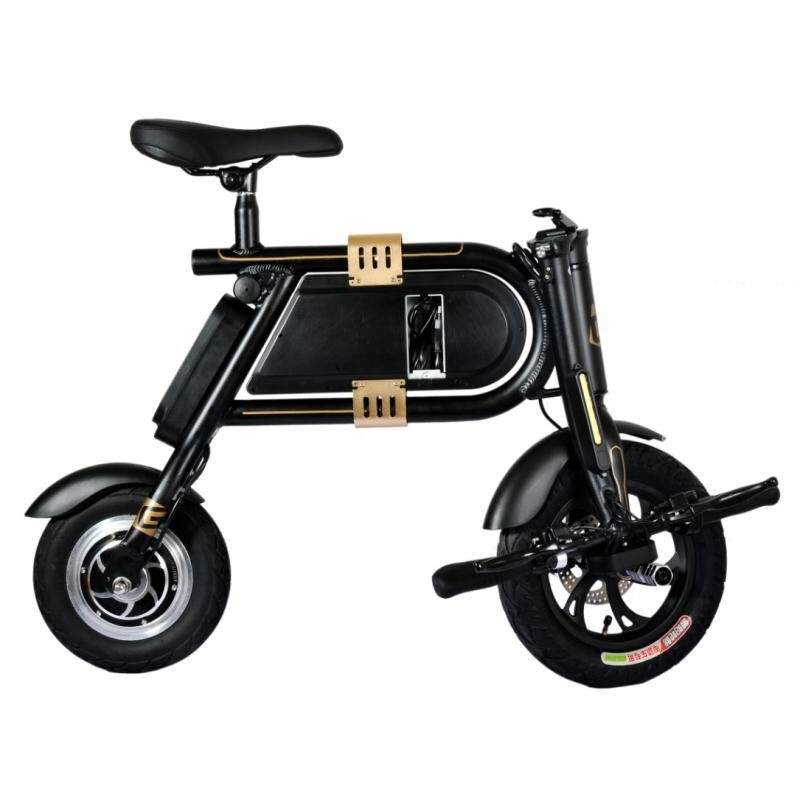 electric bike bicycle mini electric power portable smart. Black Bedroom Furniture Sets. Home Design Ideas