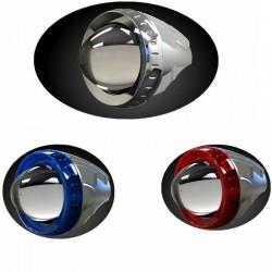 LED Ebike Headlight 10W 12V-60v Aluminum Motorcycle Light Strobe Lamp Electric Bike Modified Indicator Light