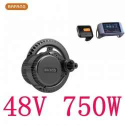 8fun/bafang Motor P750c Lcd Bbs02b 48v 750w Latest Controller Crank Engine Eletric Bicycles Trike Ebike Kits