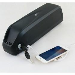 US EU No Tax Long range New Hailong 52V 14Ah eBike Battery with USB 14S 51.8V li-ion battery for 1000W 1200W motor