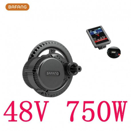 bafang Motor 850c Lcd Bbs02b 48v 750w Conversion DIY Crank Eletric Bicycles Trike Ebike Kits