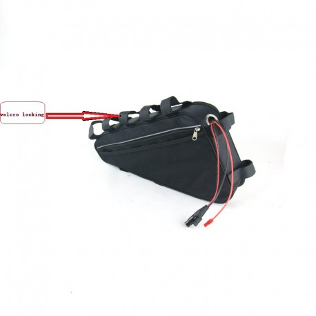 48V 20Ah Triangle battery with 30A BMS 3A fast charger for 1000W 48V Electric Bicycle battery 48V 20Ah Lithium battery