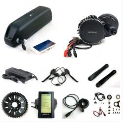 US EU No Tax Bafang BBS03 48V 1000W Electric Bike BBSHD 8Fun mid drive Motor kit with 52V 14Ah Sanyo cell Shark eBike Battery