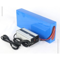 US EU No Tax 16S8P NCR18650GA cell Lithium ion Battery Packs 60V 28Ah Electric Scooter Battery Pack with 30A BMS 5A Charger