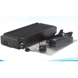 Lithium ion 48v 10Ah rear rack battery for electric bikes +charger