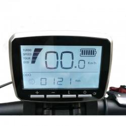 Free Shipping Tongsheng VLCD-5 LCD Display For Torque Sensor TSDZ2 Mid Drive Motor fit 6 pin connector