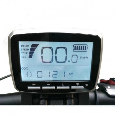 Free Shipping Tongsheng VLCD-5 LCD Display For Torque Sensor TSDZ2 Mid Drive Motor fit 6 pin connector