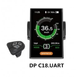 8FUN BAFANG DP C18 DISPLAY WITH USB PORT FOR BAFANG BBS MID CENTRAL MOTOR