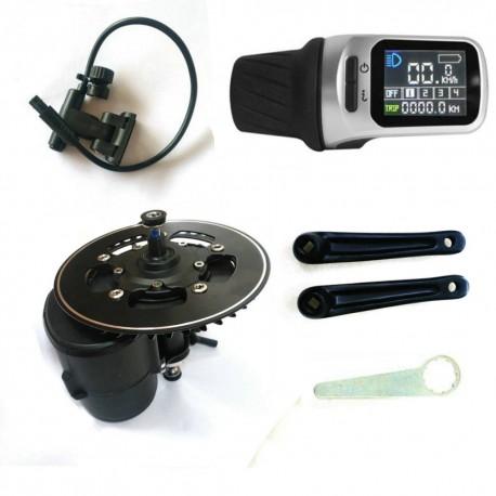 EU US NO TAX Tongsheng TSDZ2 Mid Drive Motor Conversion ebike Kit,Torque  Sensor 36V 500W XH18 Display E Bike Motor - Re-Cycles E-bikes