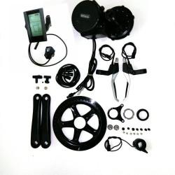 Bafang 8fun BBS02B 36V 500W Brushless Mid Drive Crank Motor Conversion DIY Trike Ebike Kits With C965 LCD Display