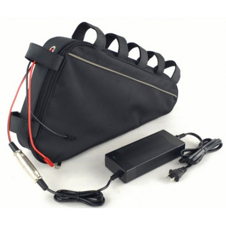 Triangle bag ebike battery 48V 17Ah lithium ion battery pack for 48V 750W BBS02 Bafang mid drive conversion motor kits