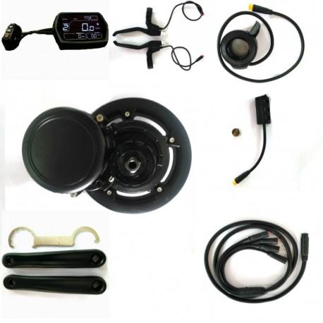 EBBS02 DIY Conversion ebike Kit MidMotor,Torque Sensor 52v 750w High Speed Electric Bike Motor