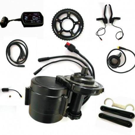 EBBS02 DIY Conversion ebike Kit MidMotor,Torque Sensor 48v 750w High Speed Electric Bike Motor