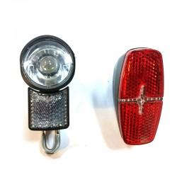 E bike light lamp 6v for Tongsheng TSDZ2 motor and BAFANG mid drive BBS01 BBS02 BBSHD motor