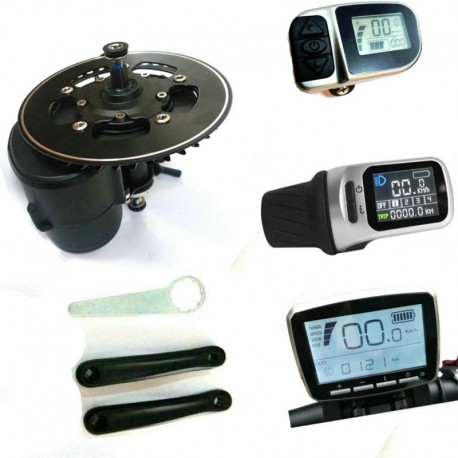 Coaster Brake Torque Sensor Tongsheng Tsdz2 Ebike Kit Conversion DIY Mid Motor 36v 48v Electric Bicycle Motor